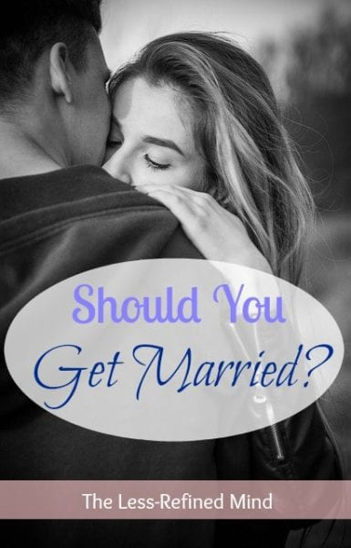 Should I Get Married? Am I getting married for the right reasons? If you're planning your wedding and unsure whether perhaps you're rushing things for the wrong reason/s, this post will help you make up your mind and be certain tying the knot is right for you and your significant other.