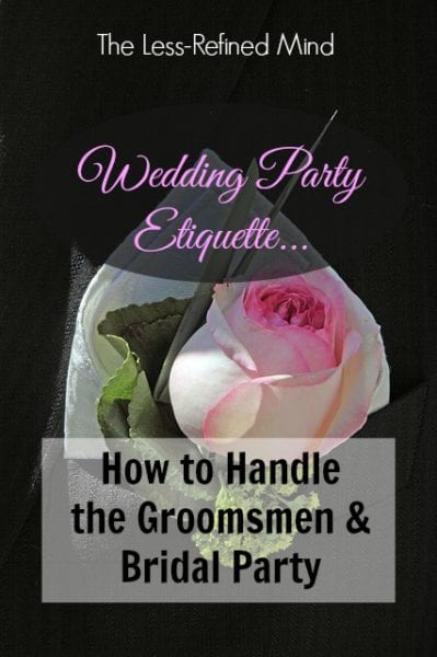 wedding, party, etiquette