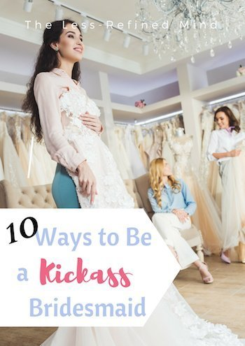 10 top tips for how to be a brilliant bridesmaid and help the bride plan her wedding. The best ways you can help the bride. #weddingplanning #bridesmaidduties #bridesmaid