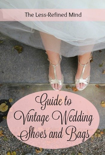 Vintage Wedding Shoes and Bags