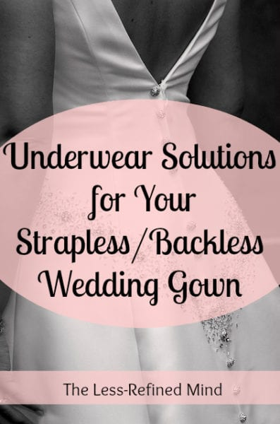 Wedding Underwear Solutions
