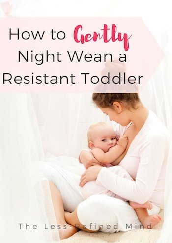 How to Night Wean - Woman Breastfeeding