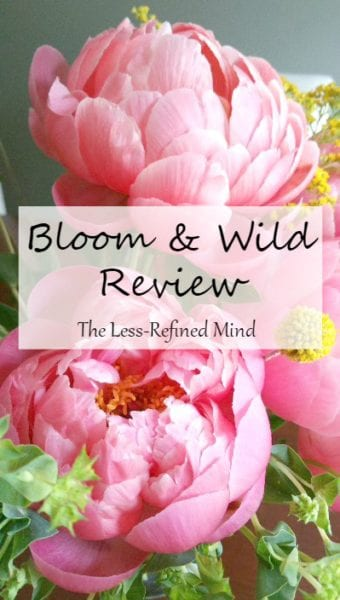Bloom & Wild Review Pinterest