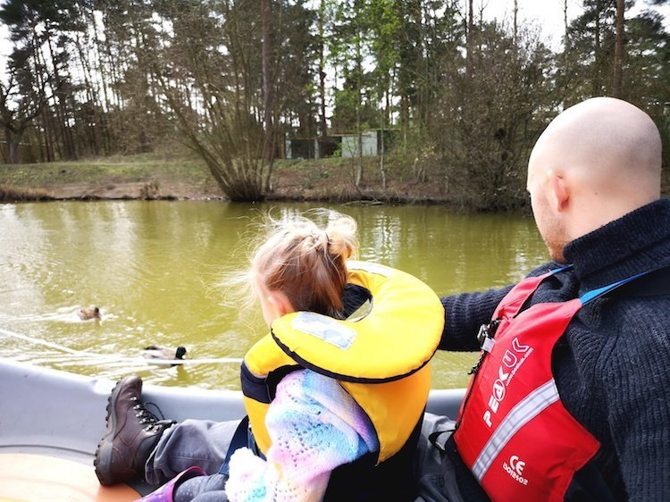 Elveden Forest - Boating at Center Parcs