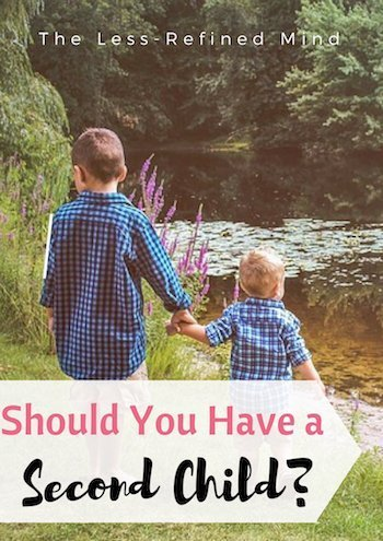 Should you have a second child? #baby #siblings #family