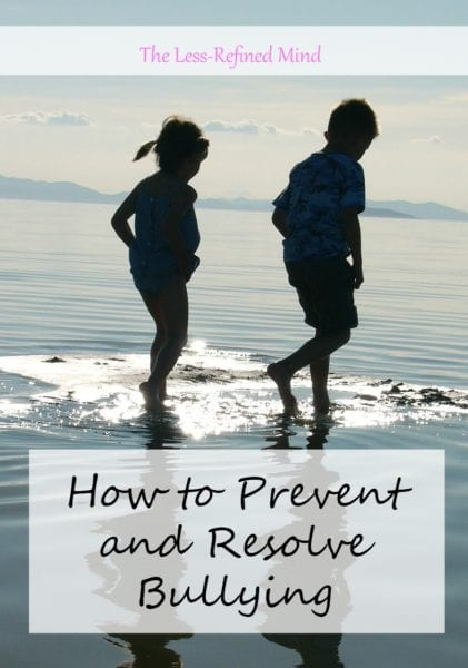 How to Prevent and Resolve Bullying
