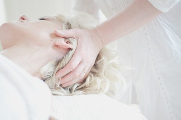 Self Care Checklist for Women - Woman Receiving Head Massage
