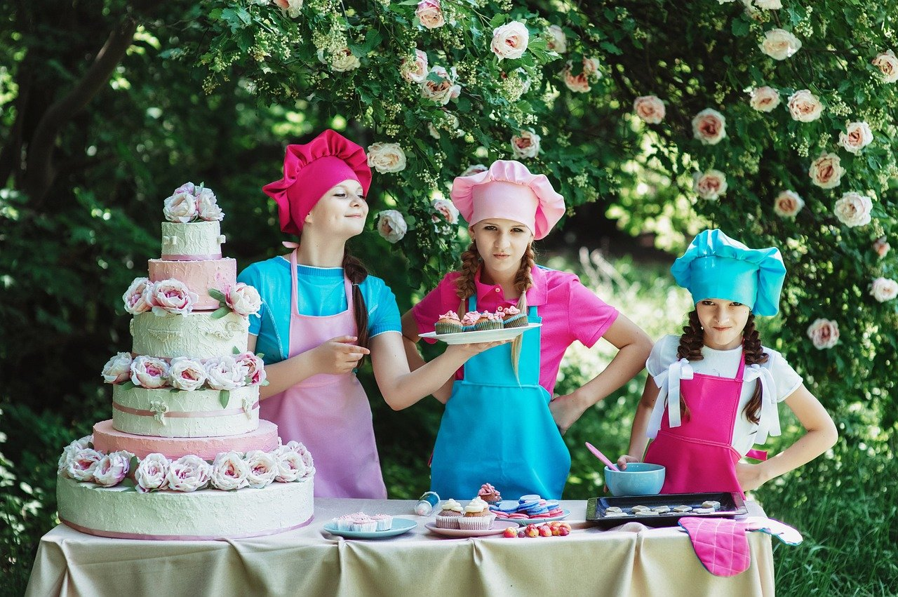Summer Activities for Kids - Baking