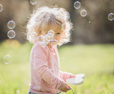 Summer Activities for Kids - Child Playing With Bubbles