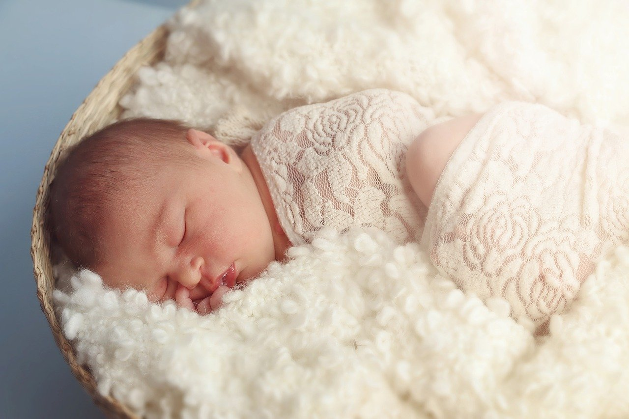 What Causes Colic - Sleeping Baby