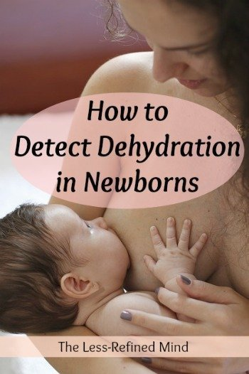 What are the signs of dehydration in a newborn baby? If you're planning to breastfeed but anxious about the possibility of your infant becoming dehydrated, this information will be vital to elminating your concerns.