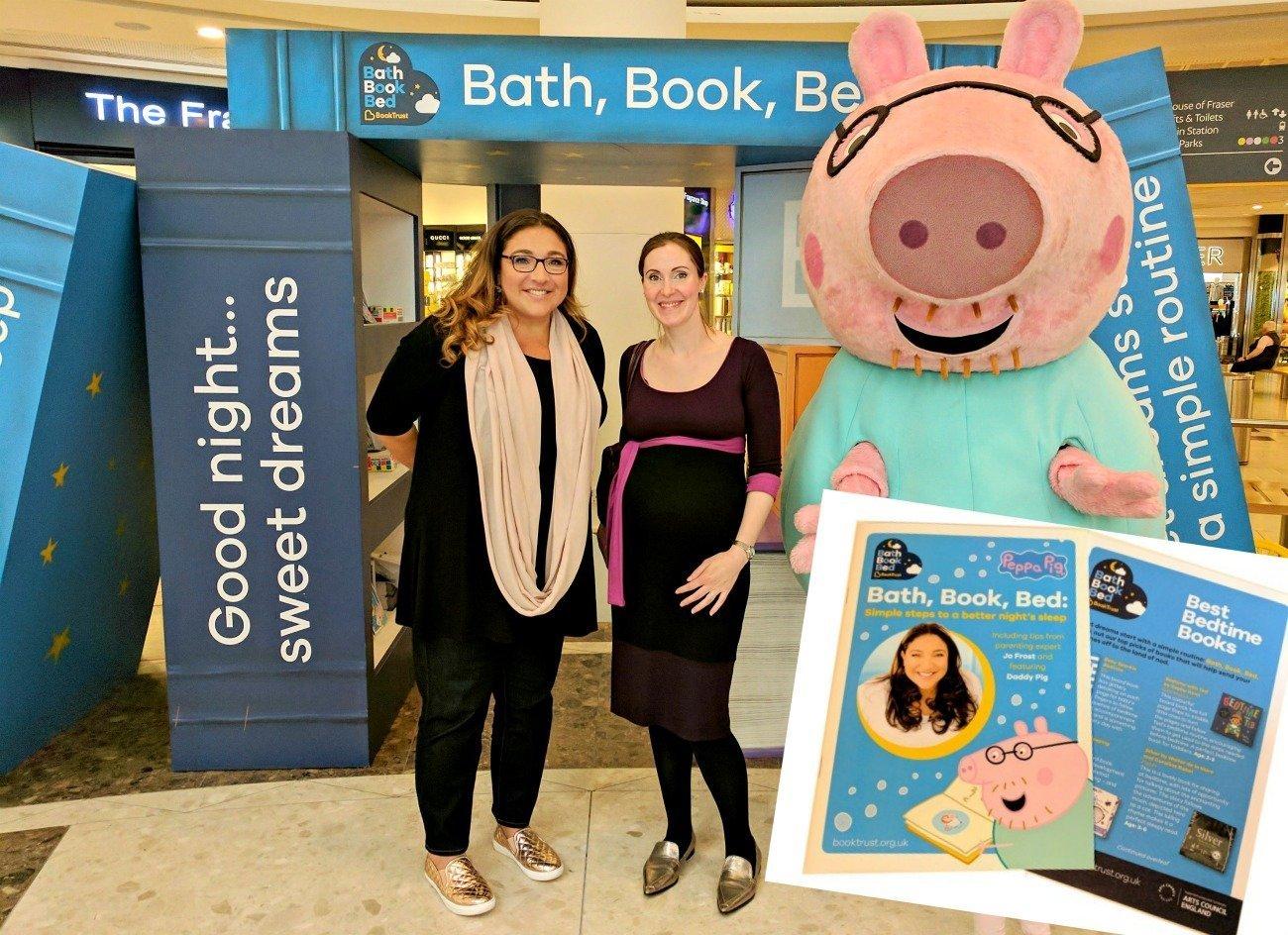 Bath, Book, Bed Campaign
