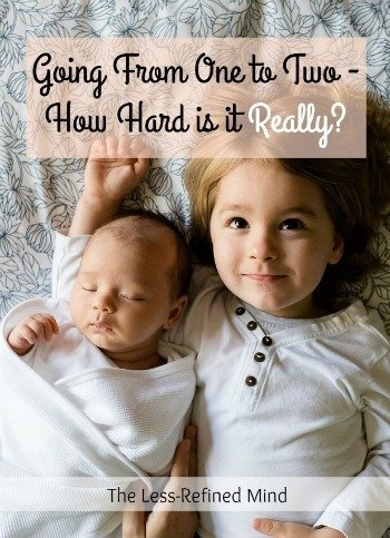 Pregnant or thinking about having a second baby? How hard is it going from one to two - really? Here's the lowdown on what to expect. Hint: Mum Guilt features heavily...