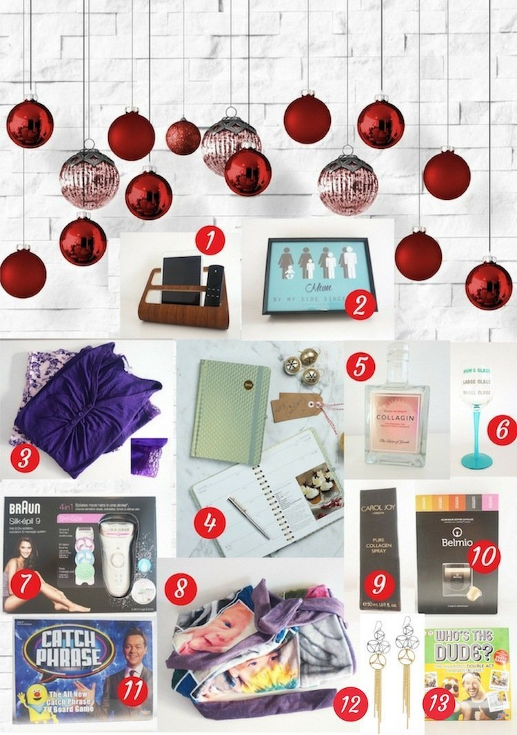 Christmas Gift Guide for Working Mums