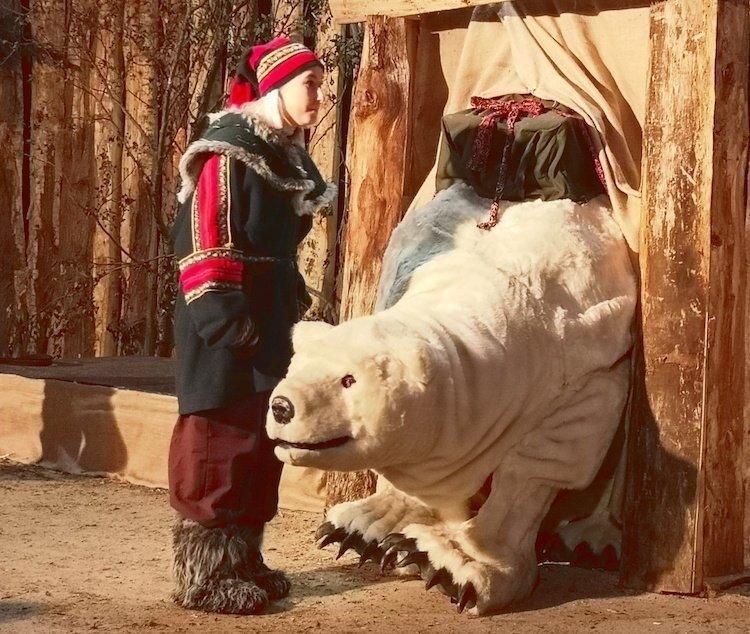 Marsh Farm Christmas Polar Bear