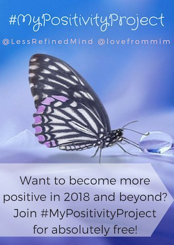 Do you want to be more positive in 2018? If you're ready to let go of negativity and grudges and embrace positivity, join our community for free!