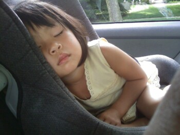 Car SEat Height and Weight Guidelines - Child in Car