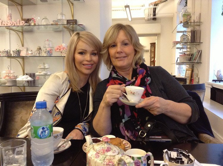 Katie Piper with Mum - Interview