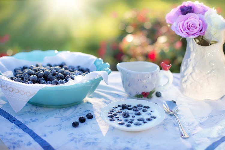 Pescetarian Benefits - Blueberries