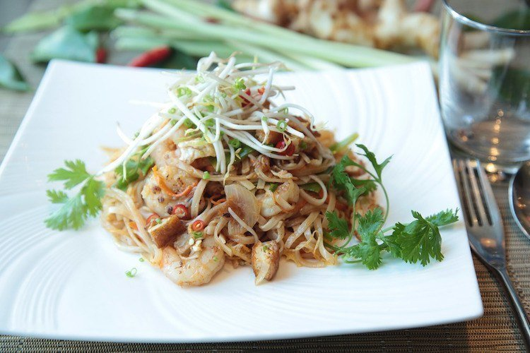 Low FODMAP Lunch - Pad Thai