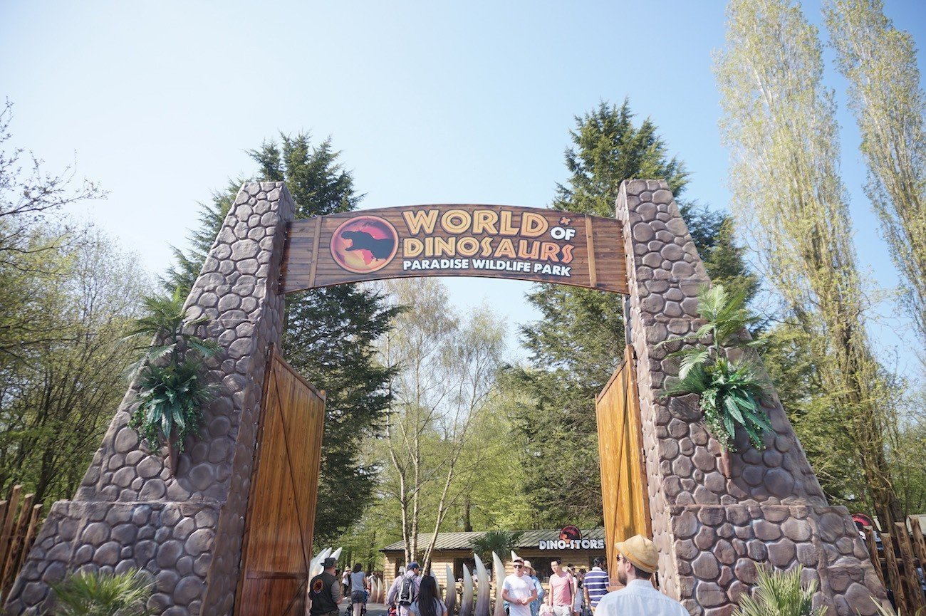 World of Dinosaurs Review - Entrance