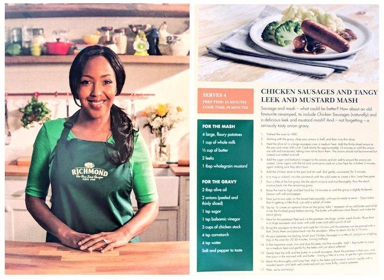Richmond Launch Chicken Sausages - Recipe