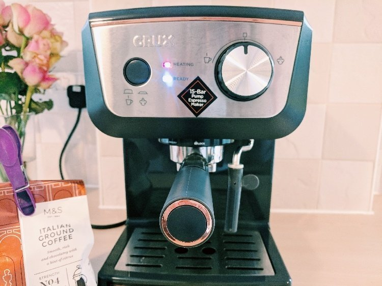 Crux 15 Bar Espresso Coffee Machine Review