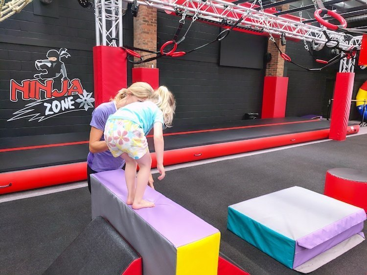 Gymfinity Kids Review - Ninja Assault Course