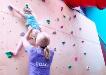 Gymfinity Kids Review - Climbing Wall