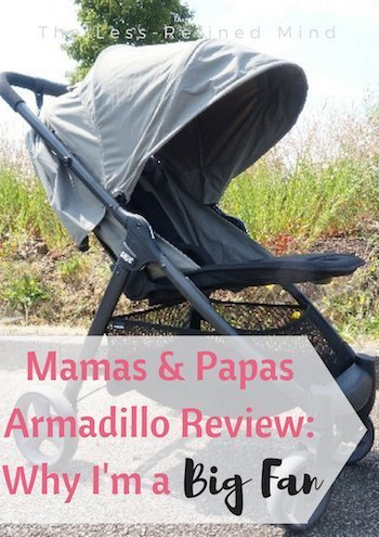 Are you thinking about purchasing a new pushchair or stroller? Read my review of the Mamas & Papas Armadillo for everything you need to know before purchasing this fantastic stroller. #pushchair #stroller #pushchairreview #strollerreview