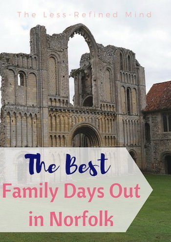 5 of the best family days out in Norfolk! #sightseeing #staycation #norfolk #familydaysout #familyfriendly