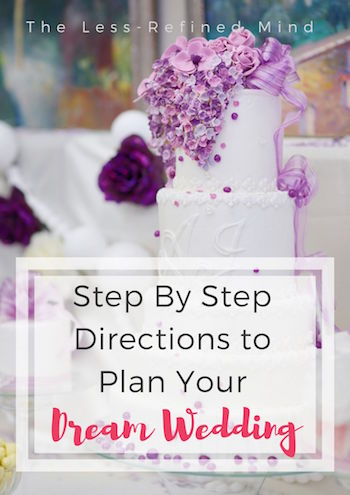 A wedding timeline with step by step directions to planning your dream wedding. #weddingtips #weddingplanning #weddingchecklist #weddingadvice