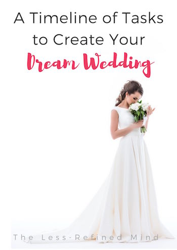 A scheduled wedding timeline to help you plan your perfect wedding day. This wedding checklist PDF is ideal. #weddingtips #weddingplanning #weddingchecklist #weddingadvice