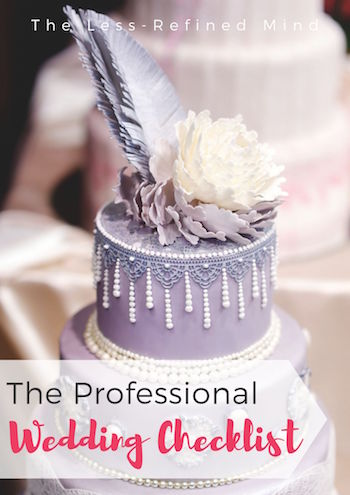 The professional wedding timeline to help you plan your dream wedding without the help of a wedding planner. #weddingtips #weddingplanning #weddingchecklist #weddingadvice