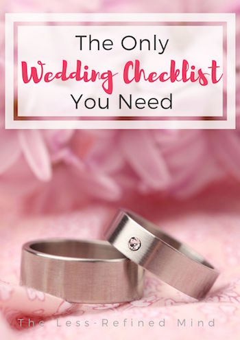 This wedding timeline provides a timeline of tasks to help you meticulously plan your dream wedding day. #weddingtips #weddingplanning #weddingchecklist #weddingadvice