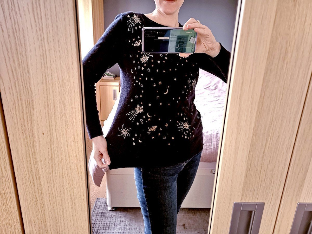 Simply Be is Not Only for Plus Size Fashion - Monsoon Jumper