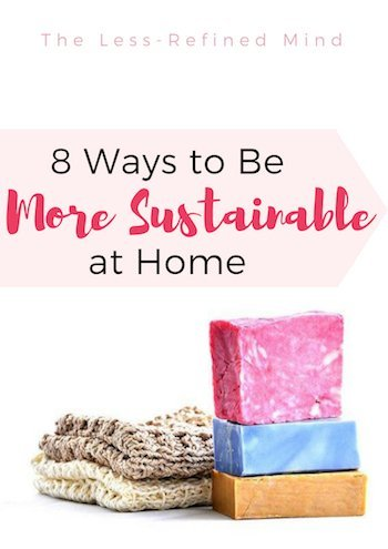 Are you conscious of your carbon footprint and wanting to be more ethical and environmentally friendly? Here are 8 ways to become more sustainable as a family. #sustainability #environmentallyfriendly #gogreen #livewell #carbonfootprint #plastic
