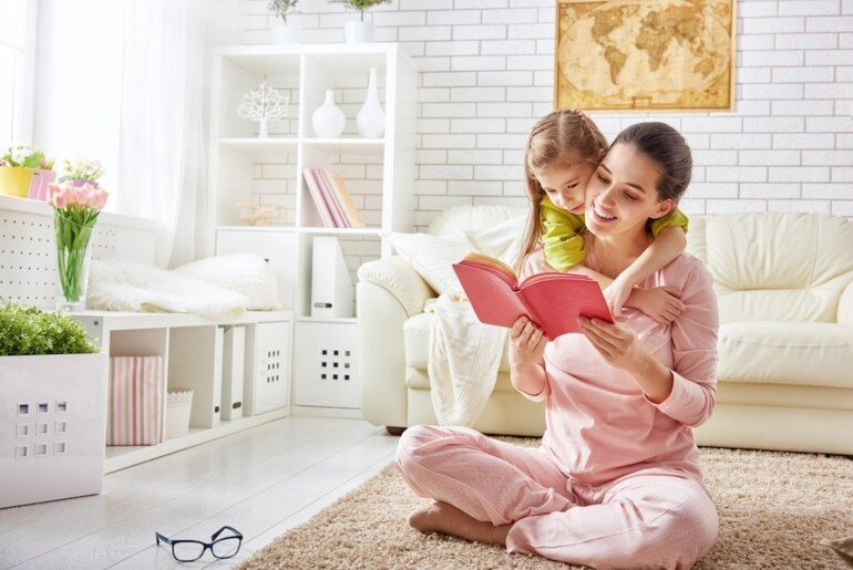 The Best Children's Books to Support Difficult Conversations - Mother Reading to Daughter