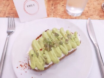 How Does 28 by Sam Wood Work? - Goats Cheese and Avocado on Toast