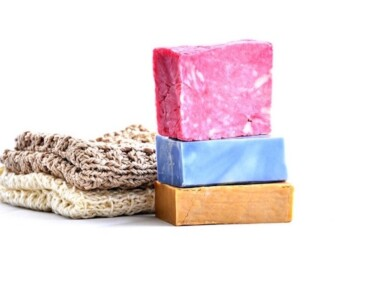 How to Be More Sustainable at Home - Soap Bars