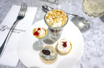Georgian House Hotel Review - Cheese Afternoon Tea Desserts