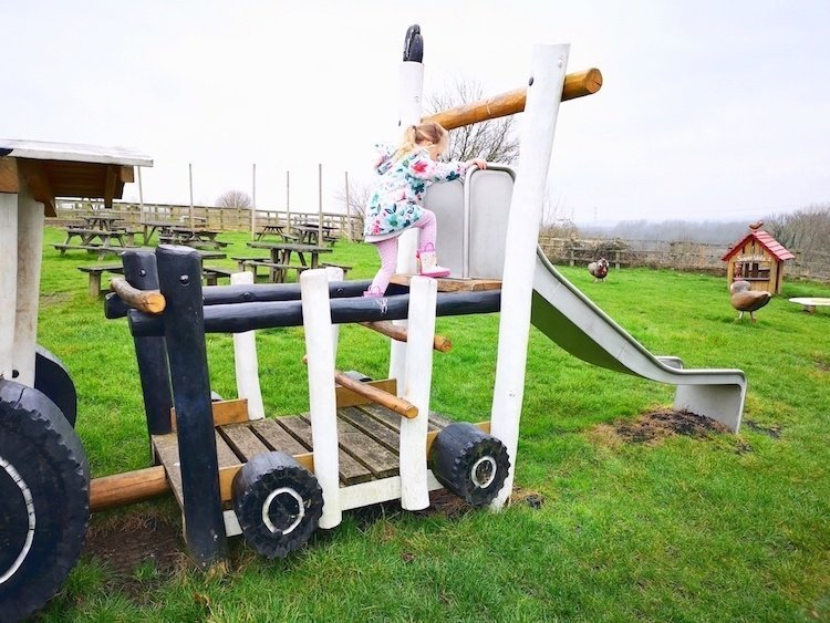 Lee Valley Park Farms Review - Play Area