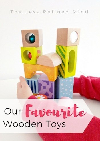 Wooden Toys for Babies - Stacking Sound Blocks