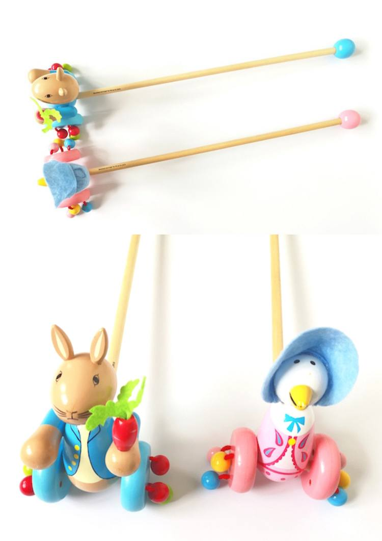 Beatrix Potter Push Along Toys