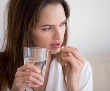 Breakthrough Bleeding on Pill - Woman Taking Pill