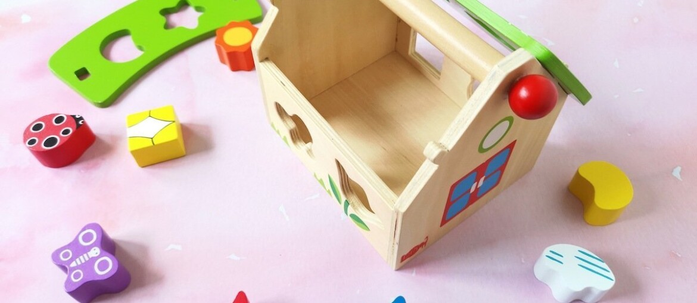 Wooden Toys for Babies - Shape Sorter
