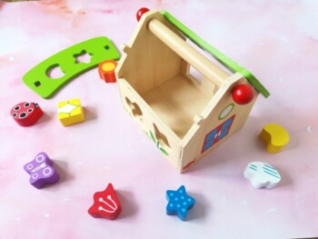 Wooden Toys for Babies - Shape Sorter