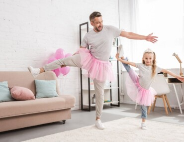 Gender Stereotyping - Dad and Daughter Dancing
