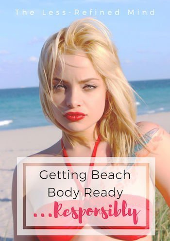 Beach Body Ready - Pin