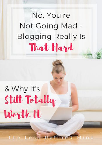 Is Blogging Hard - Pin